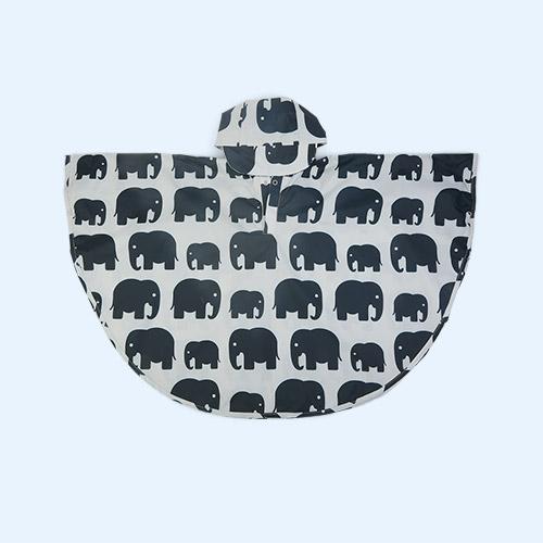 Grey Elephant Bundle Bean Toddler Poncho