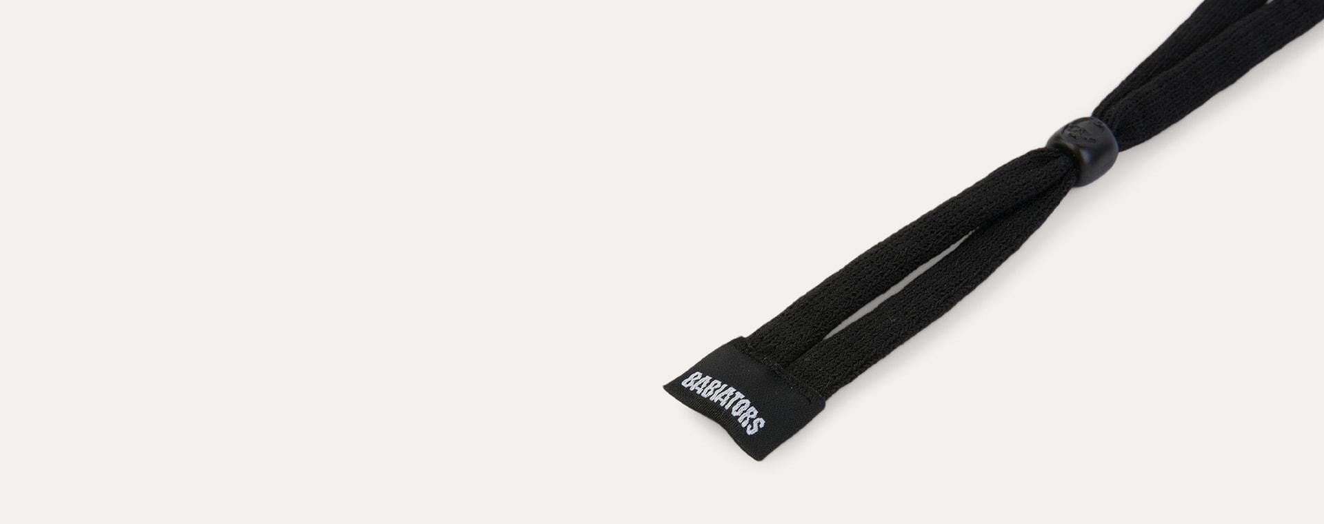Black Babiators Fabric Strap