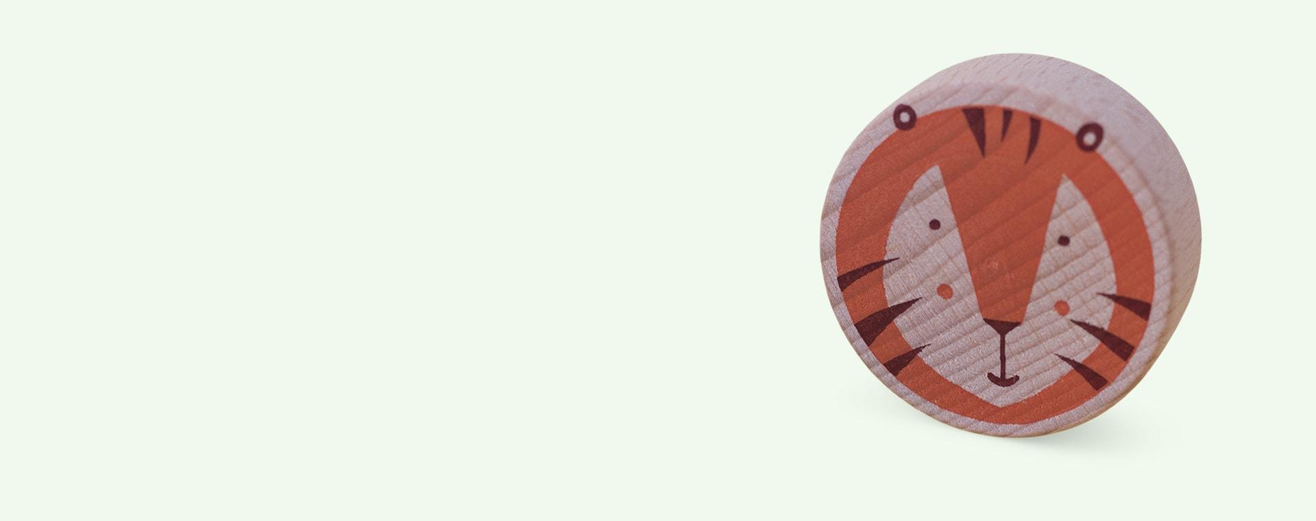 Multi Londji Lion & Tiger Tic Tac Toe