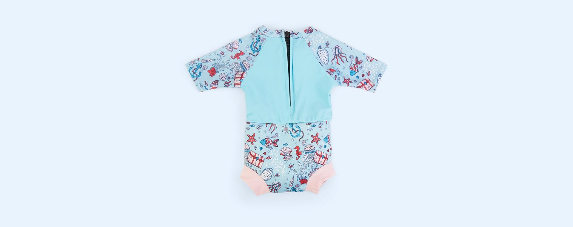 Hidden Treasure Splash About Happy Nappy Sun Suit