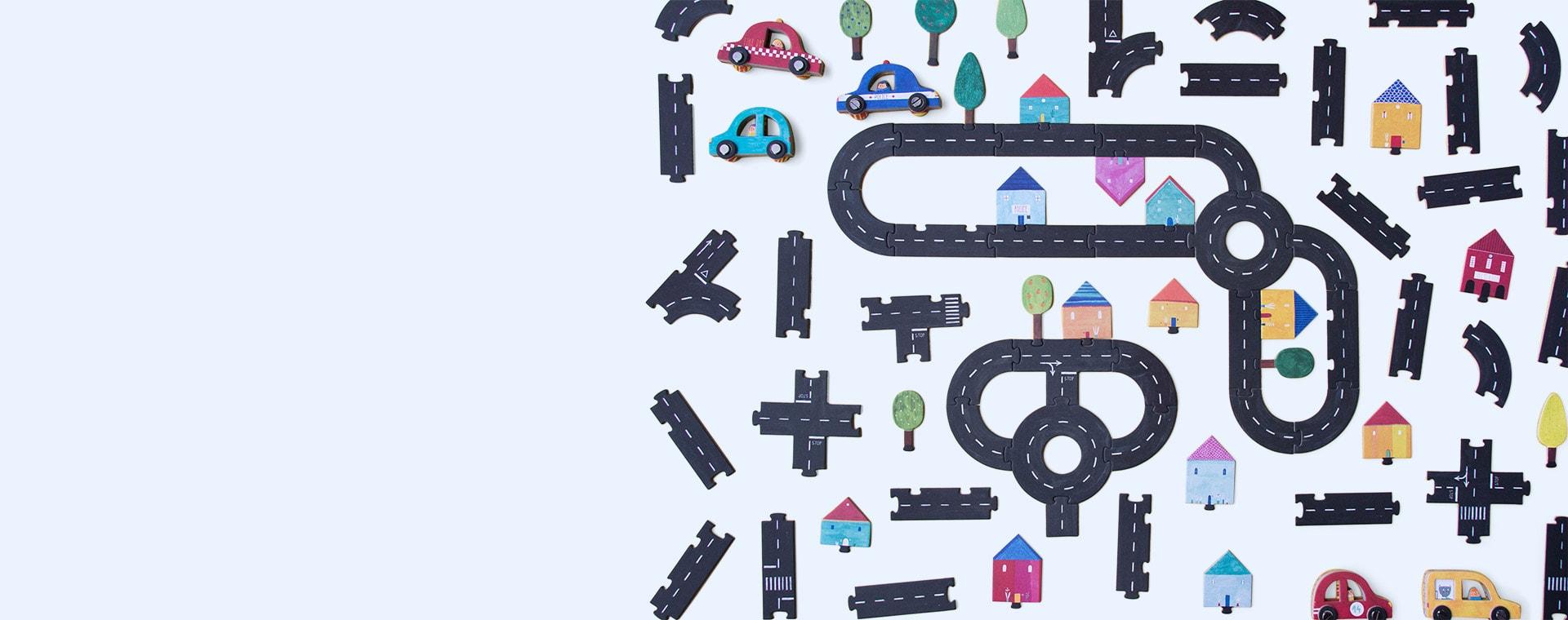 Multi Londji Roads Connecting Game