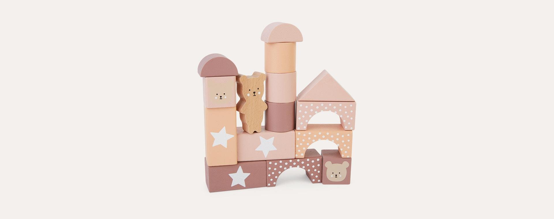 Multi Jabadabado Building Blocks Teddy
