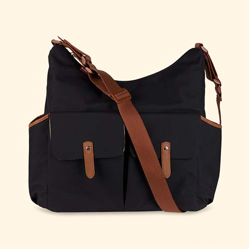 Black Babymel Frankie Changing Bag