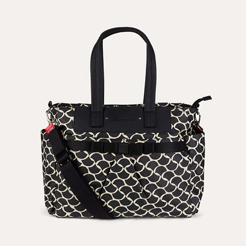 Wave Black Cream Babymel Cara Changing Bag