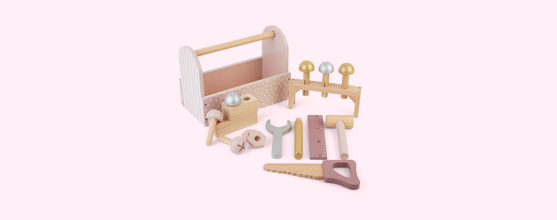 Pink Jabadabado Tool Box
