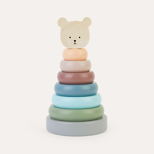 Multi Jabadabado Stacking Toy Teddy