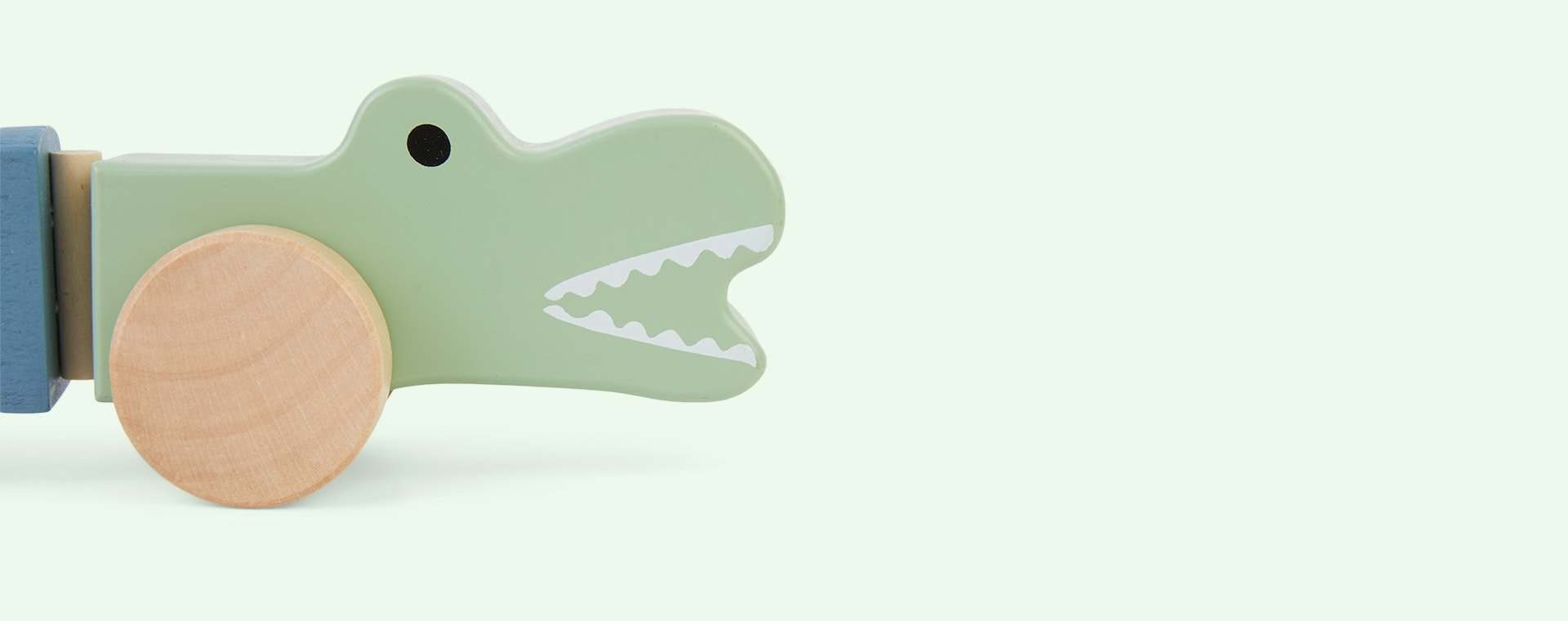 Multi Jabadabado Pull Crocodile