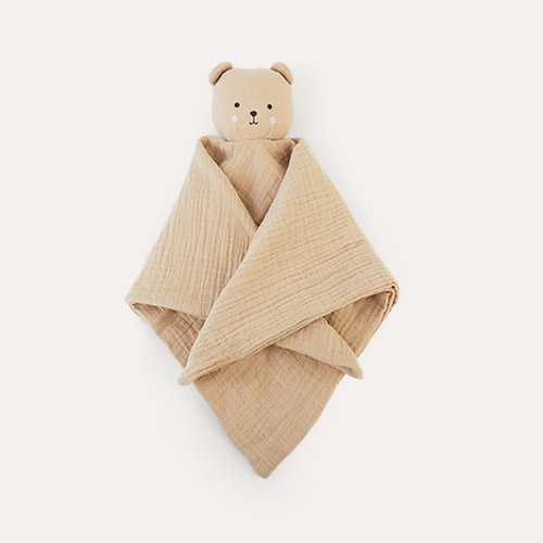 Brown Jabadabado Teddy Comforter