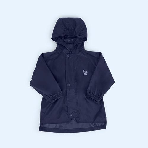Navy Muddy Puddles Original Waterproof Jacket