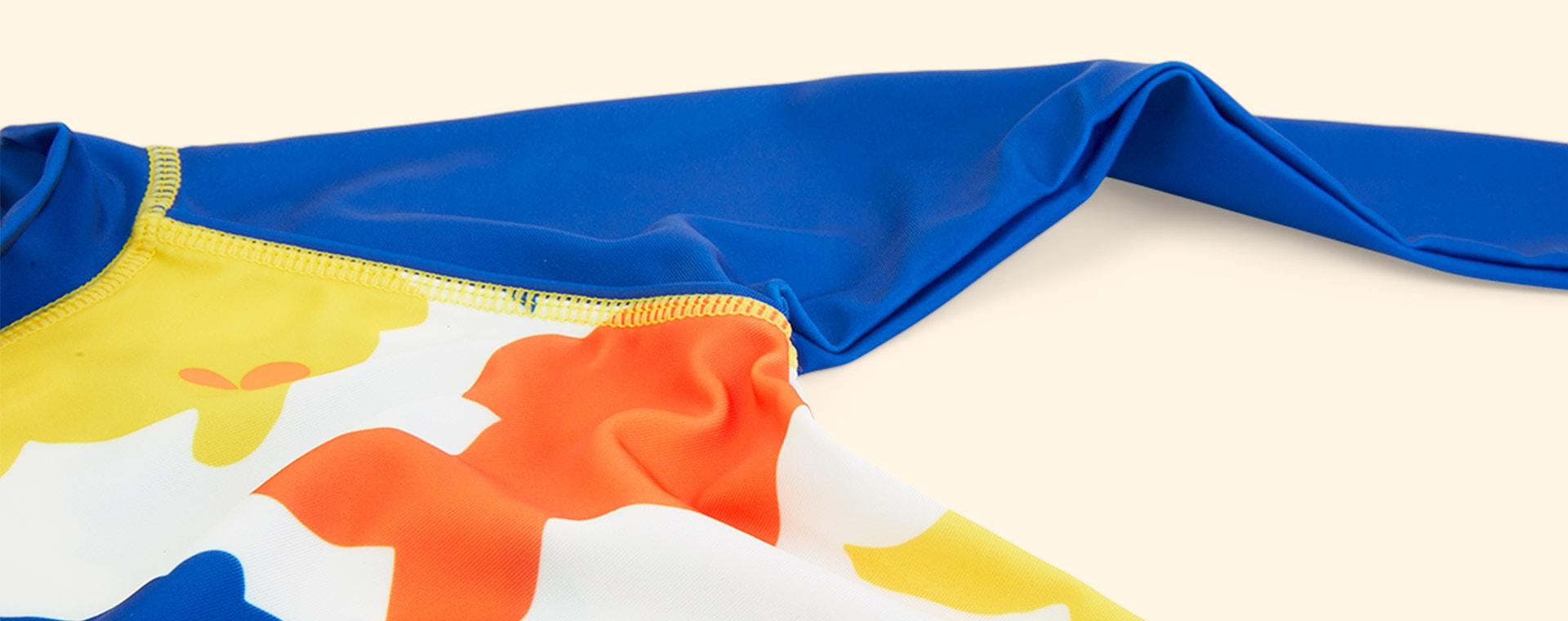 White Fish Muddy Puddles UV Protective Rash Vest