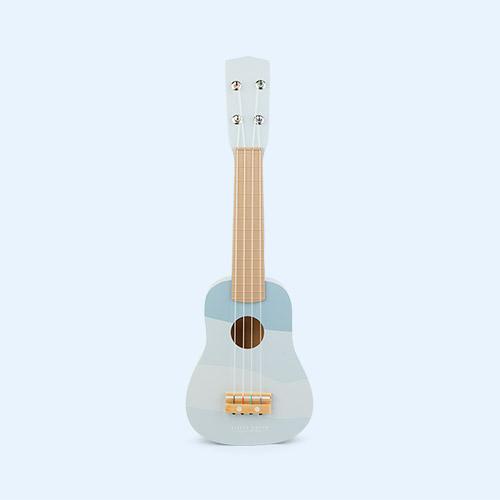 Blue Little Dutch Guitar