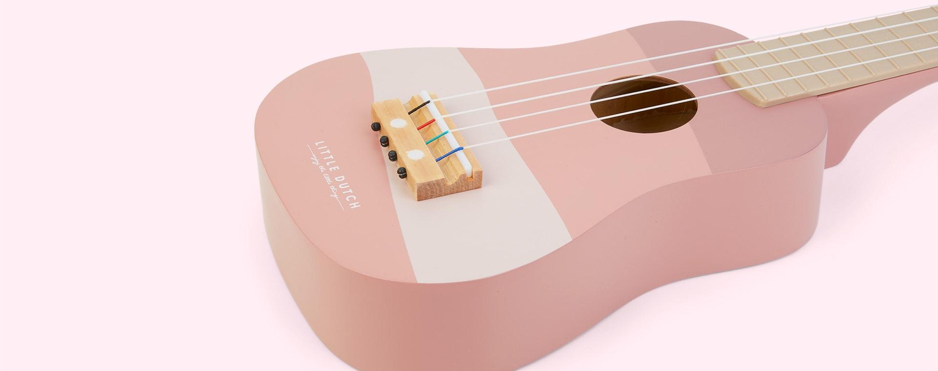 Pink Little Dutch Guitar