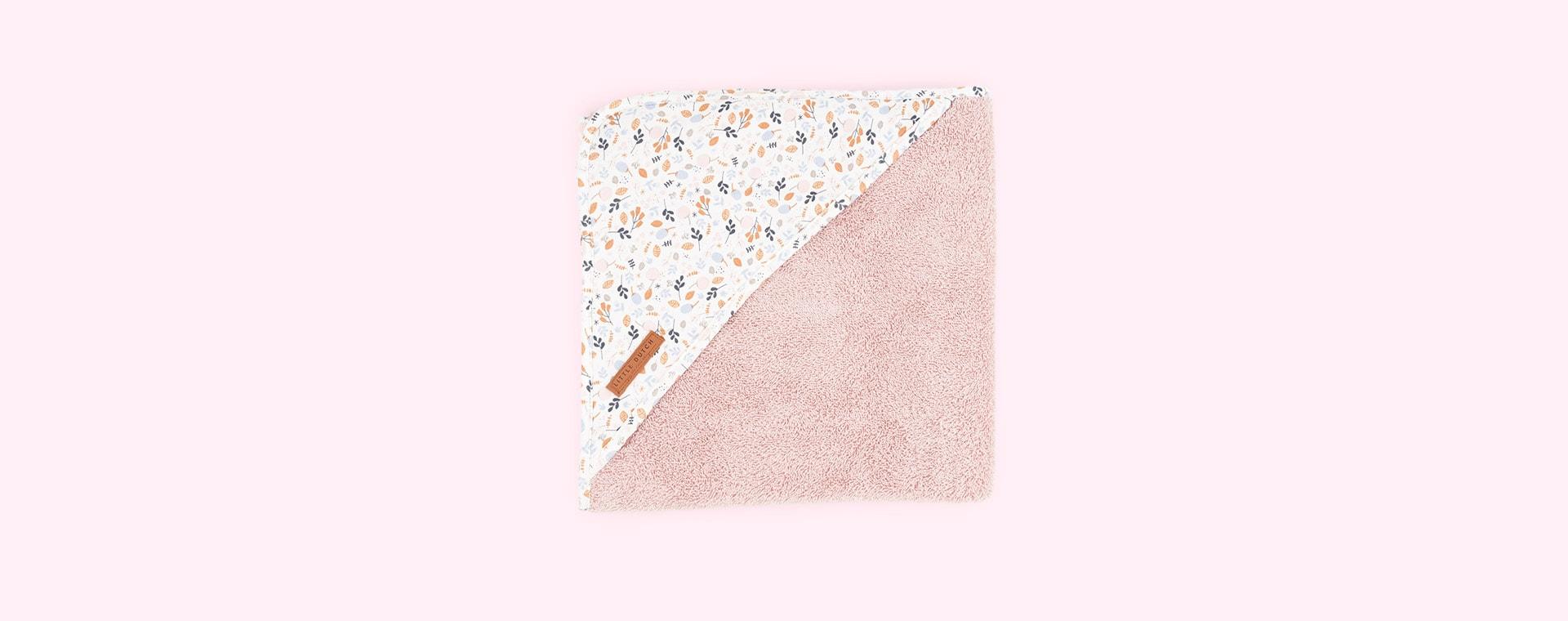 Spring Flowers Little Dutch Hooded Towel