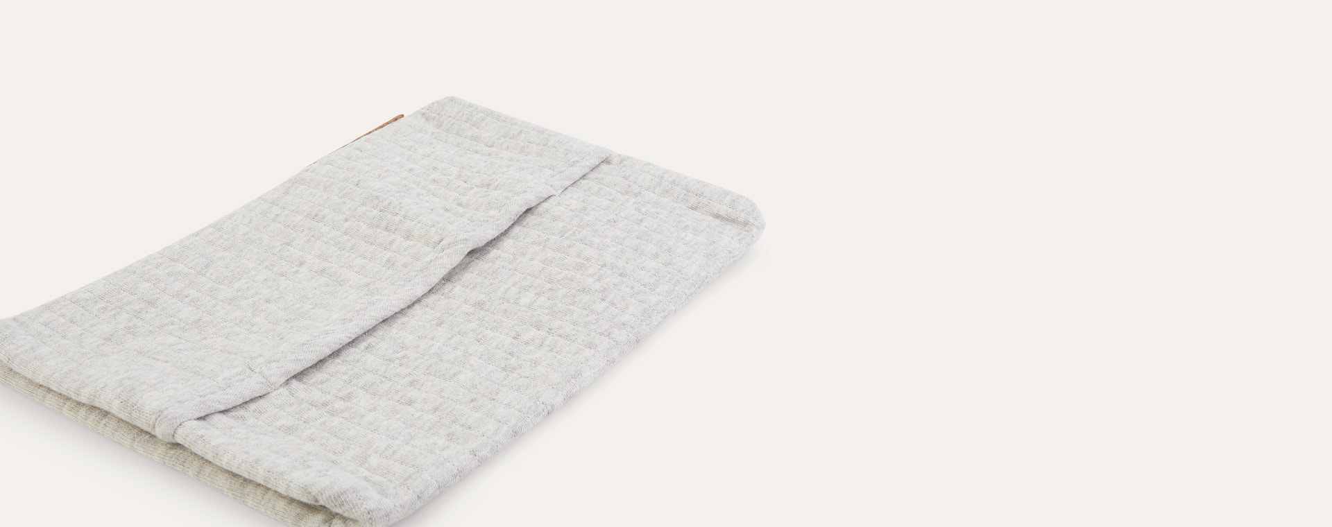 Pure Grey Little Dutch Baby Wipes Cover