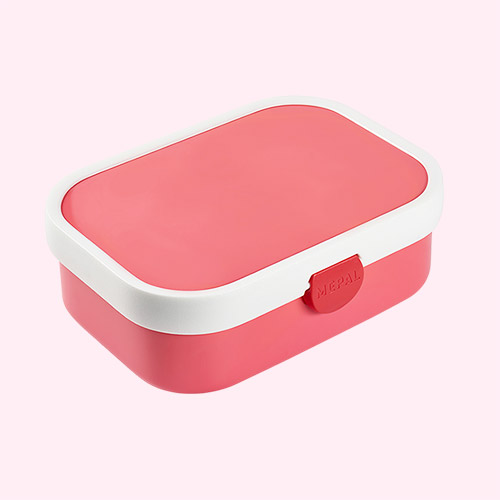 Pink Mepal Campus Bento Lunch Box and Fork