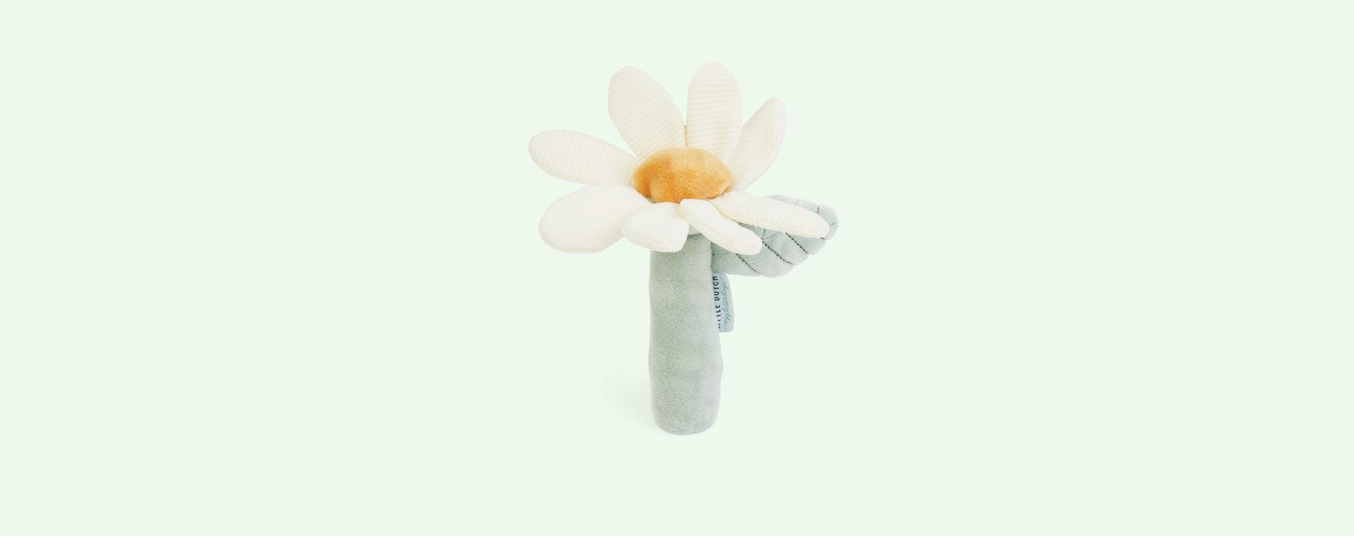 Pink Little Dutch Rattle Toy Flower