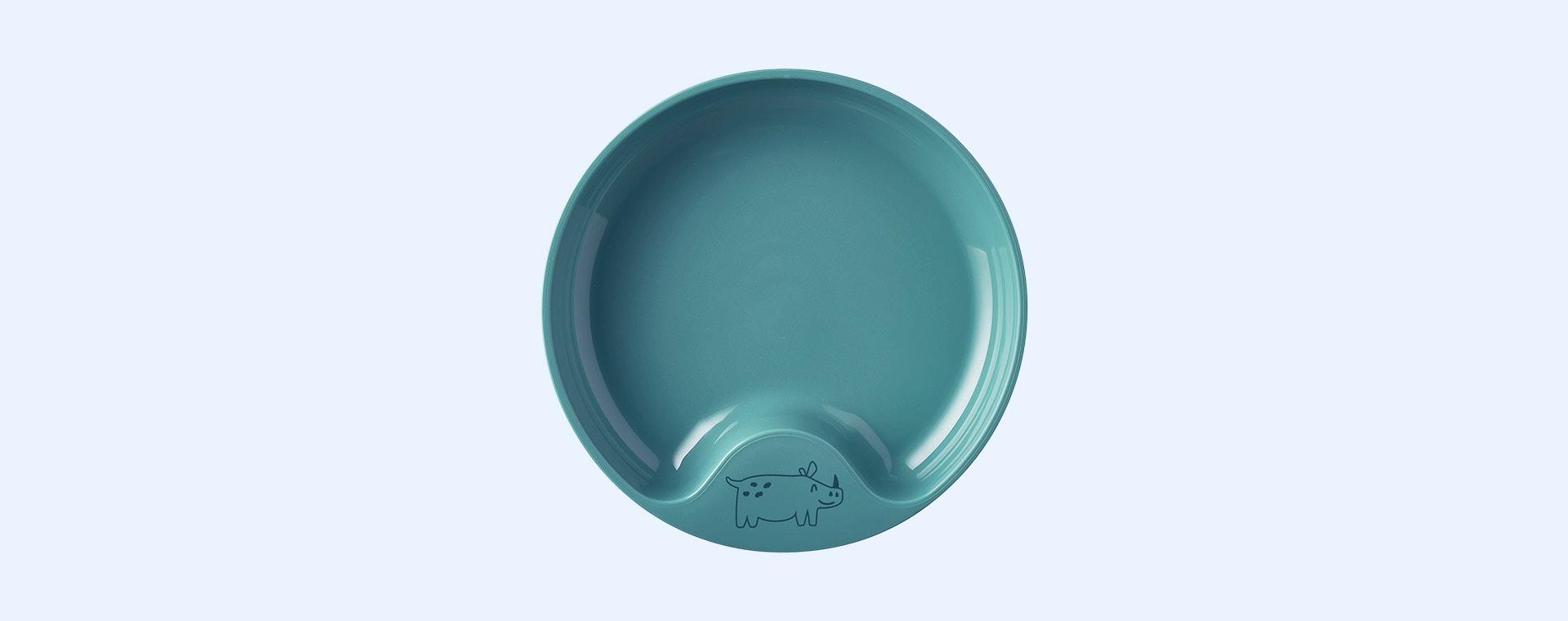 Deep Turquoise Mepal Baby Dinnerware Set