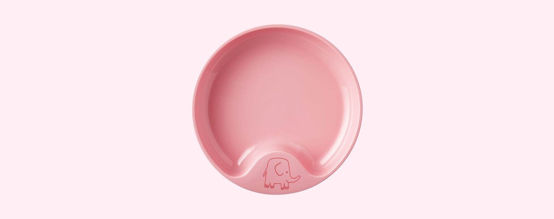 Deep Pink Mepal Baby Dinnerware Set