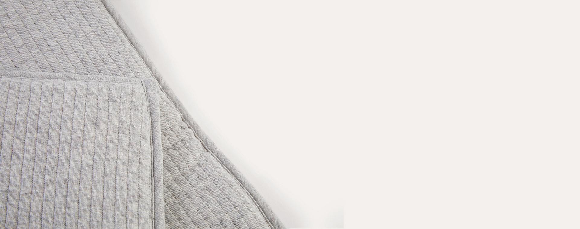 Pure Grey Little Dutch Comfort Changing Pad