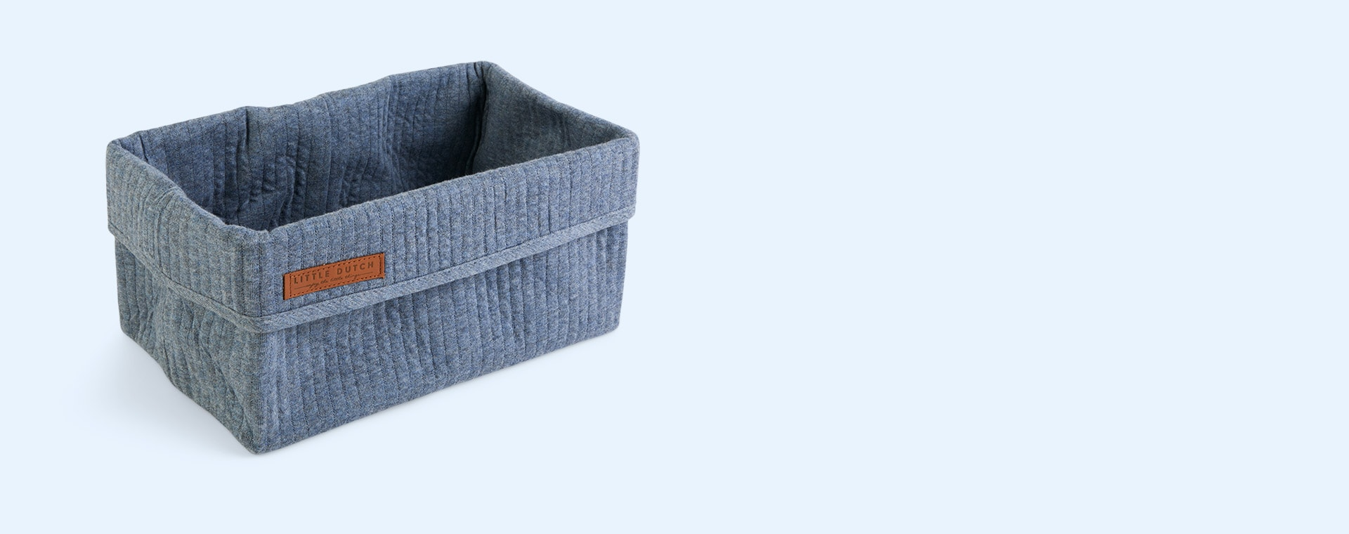 Pure Blue Little Dutch Baby Storage Basket Large