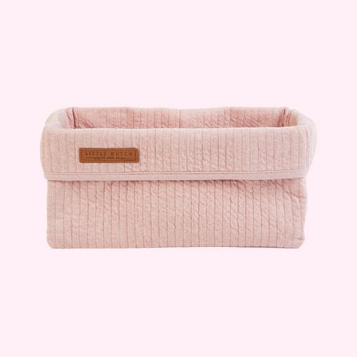 Pure Pink Little Dutch Baby Storage Basket Large