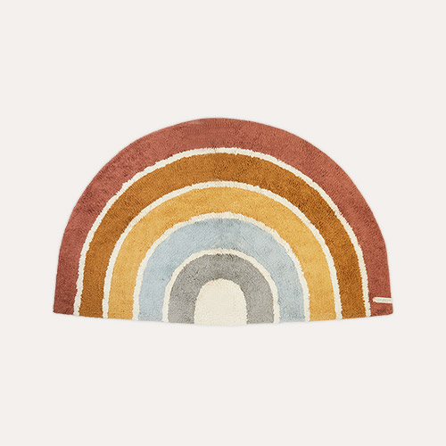 Pure & Nature Little Dutch Rainbow Shape Rug