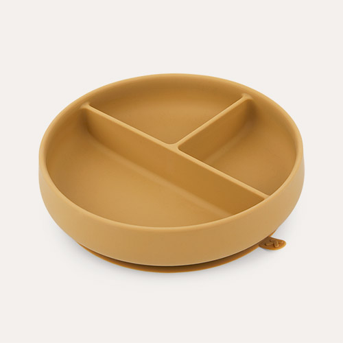 Toffee KIDLY Label Suction Divided Plate