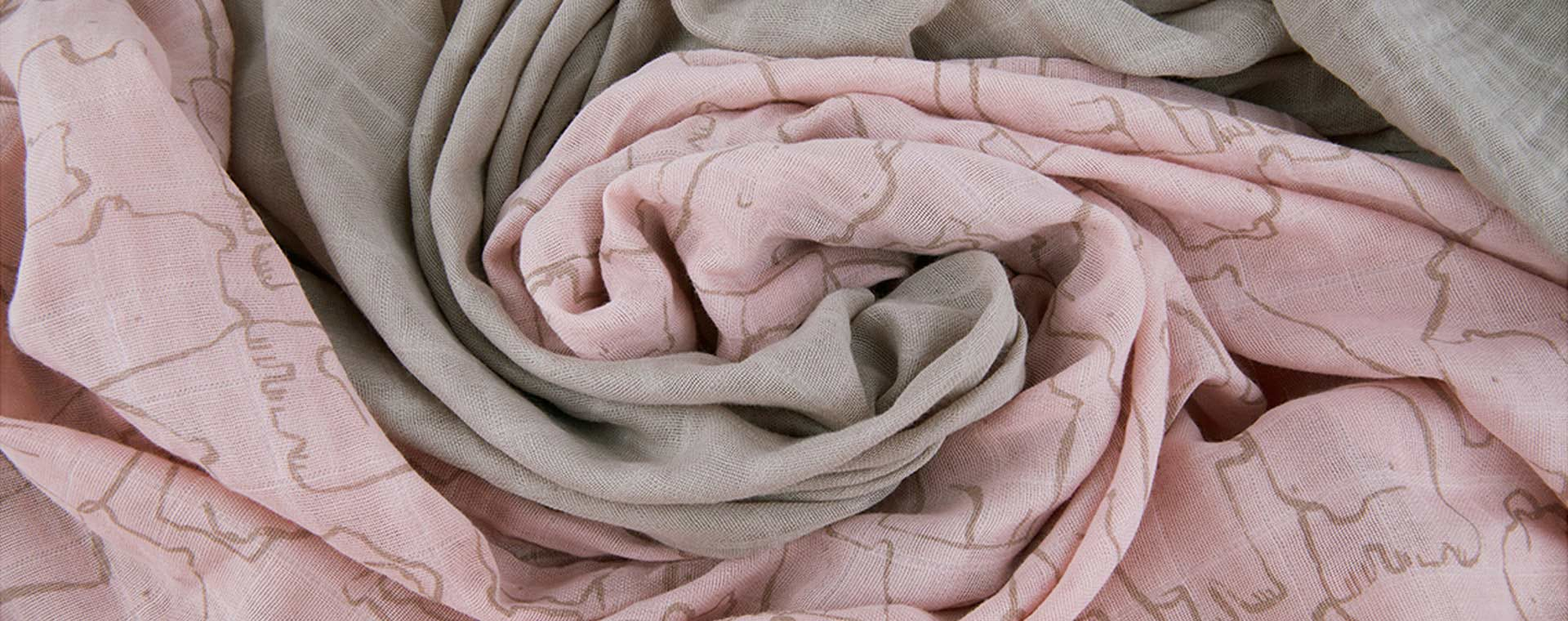 Bear KIDLY Label 2-Pack Swaddle Blankets
