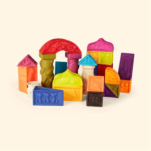 Multi B. Toys Elemenosqueeze Blocks