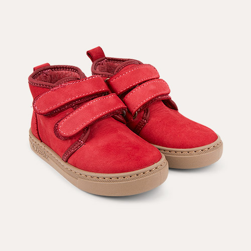 Rojo Natural World Two Strap Velcro Boot