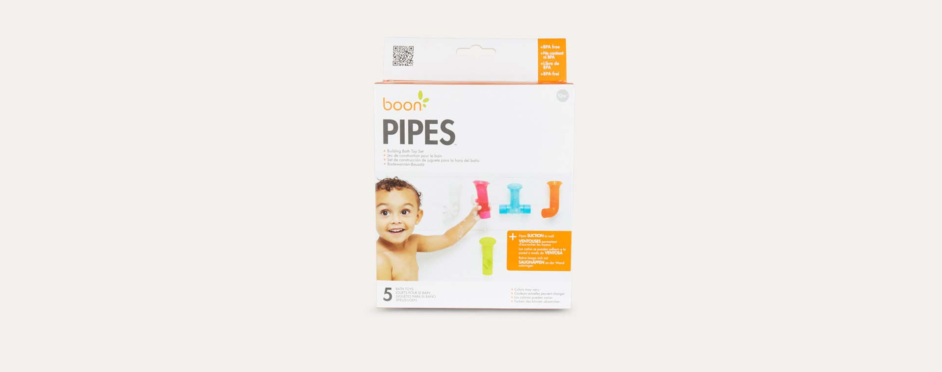 Multi Boon Pipes Bath Toy