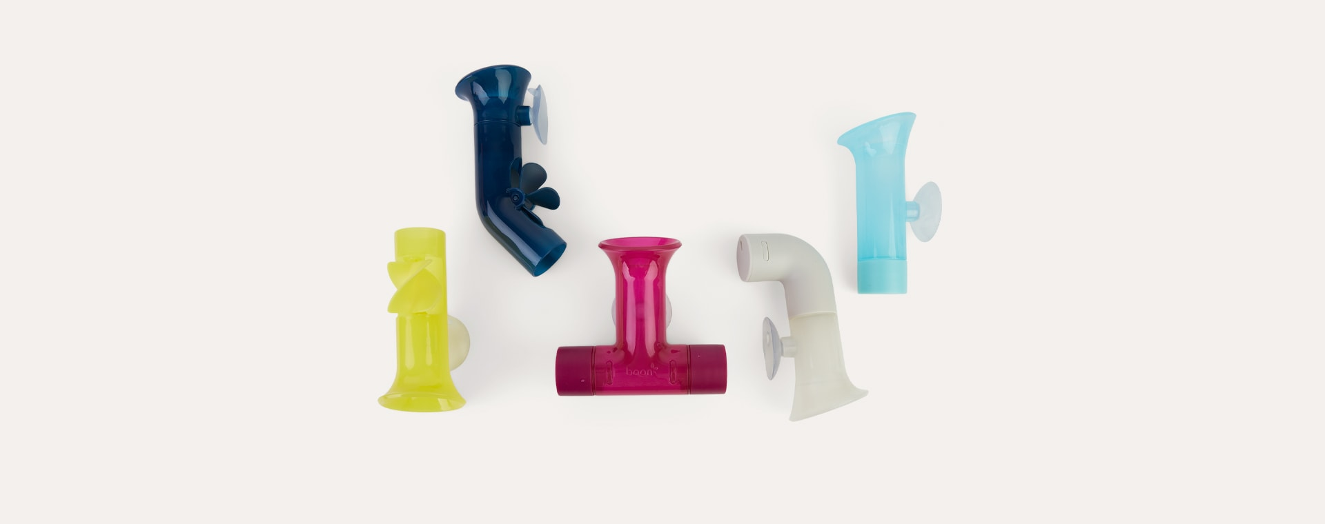 Purple Mix Boon Pipes Bath Toy
