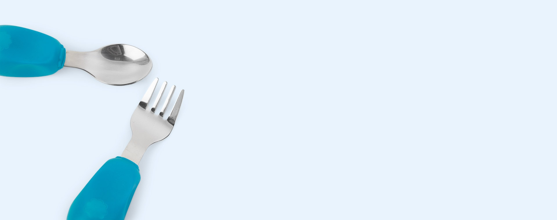 Blue Nana's Manners Stage 2 Cutlery Set