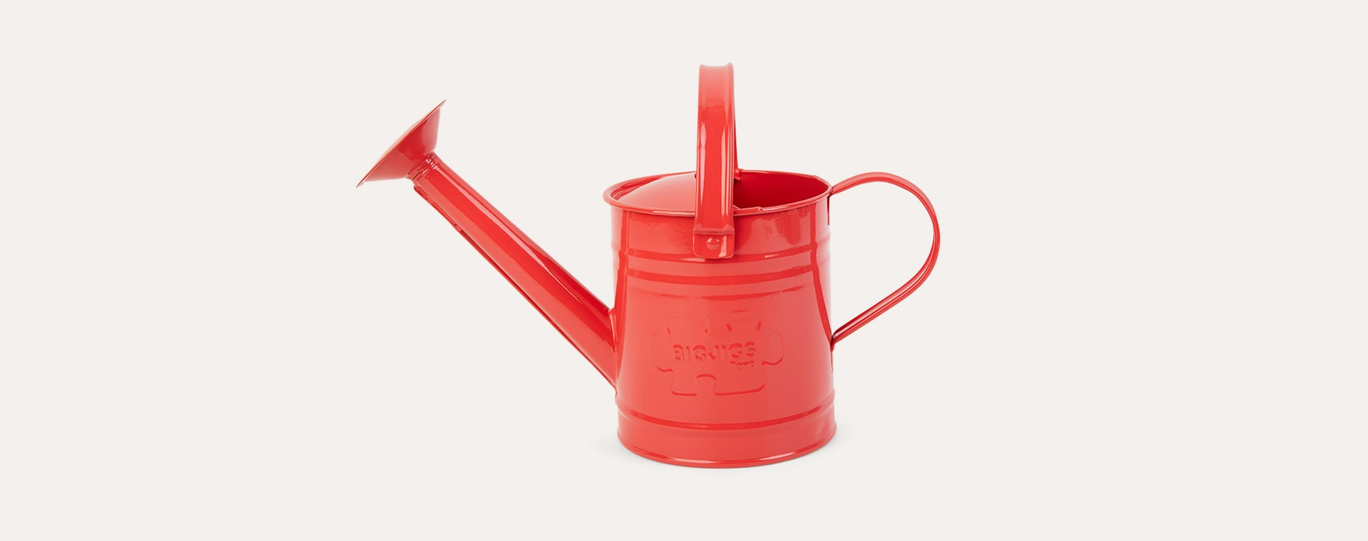 Red Bigjigs Red Watering Can