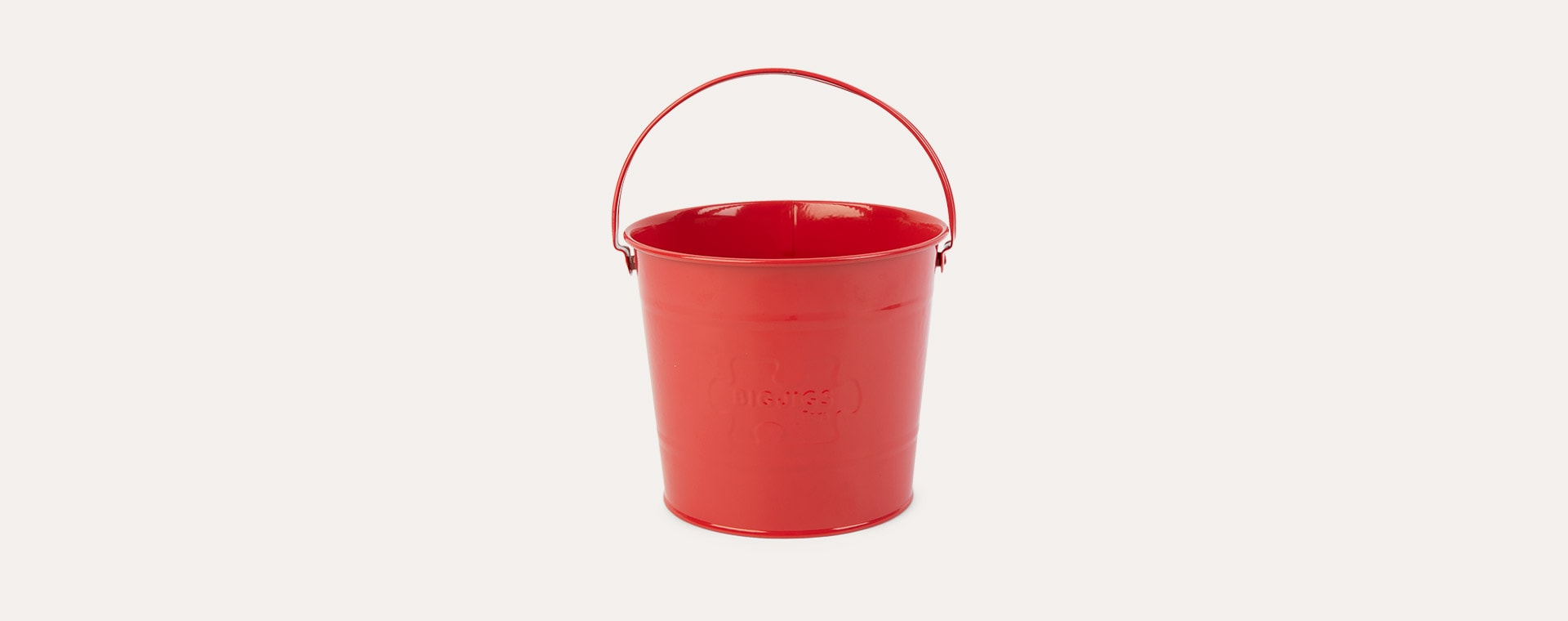 Red Bigjigs Red Bucket