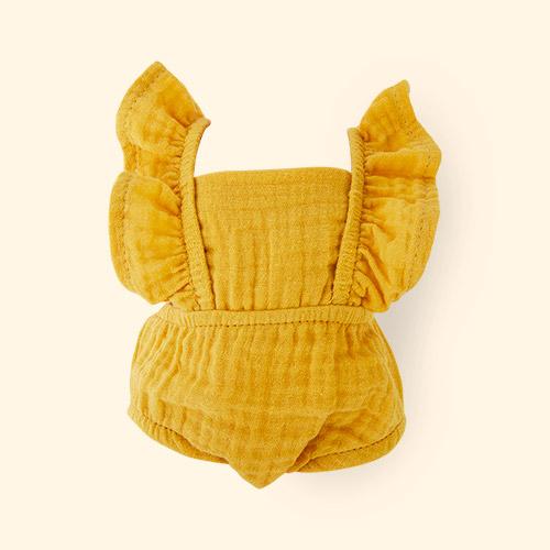 Mustard Minikane Retro Romper