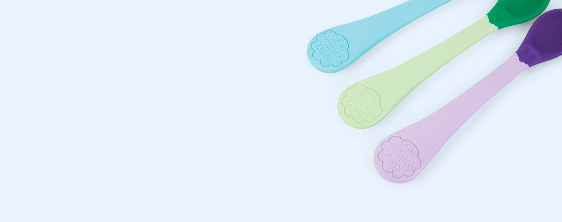 Multi Nana's Manners 3-Pack Stage 1 Weaning Spoons