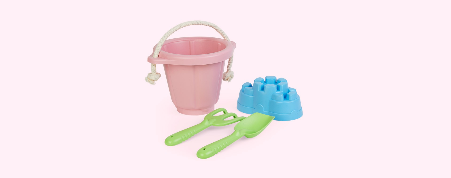 Pink Green Toys Sand Play Set