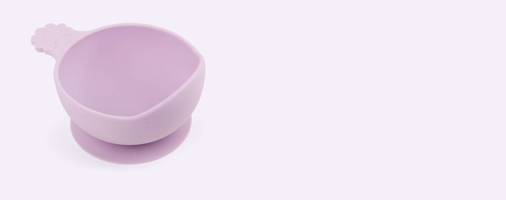 Purple Nana's Manners Stage 1 Suction Bowl