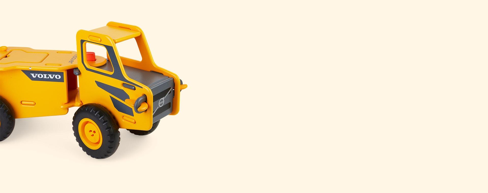 Yellow Moover Dump Truck
