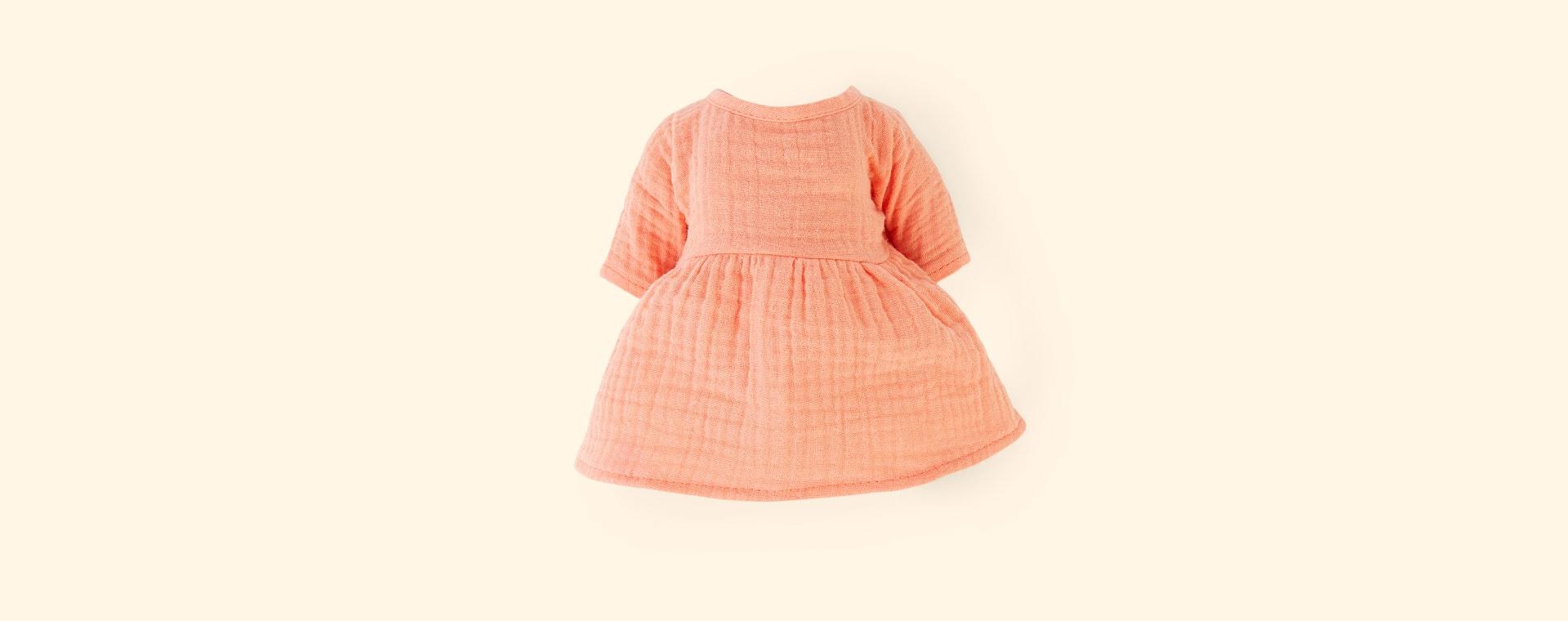 Peach Minikane Cotton Dress