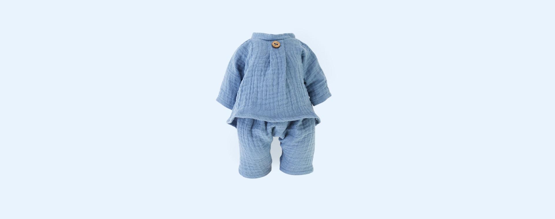 Blue Minikane Shirt & Trousers