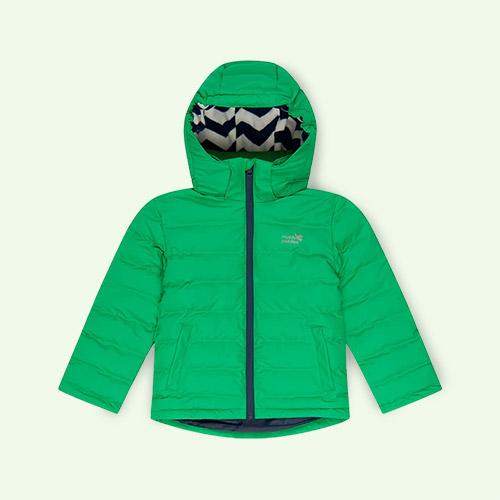 Green Muddy Puddles Waterproof Puffertech Jacket