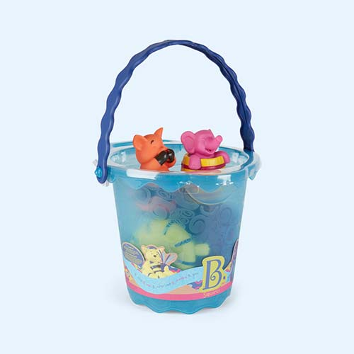 Multi B. Toys Squirts Bathtime Bucket