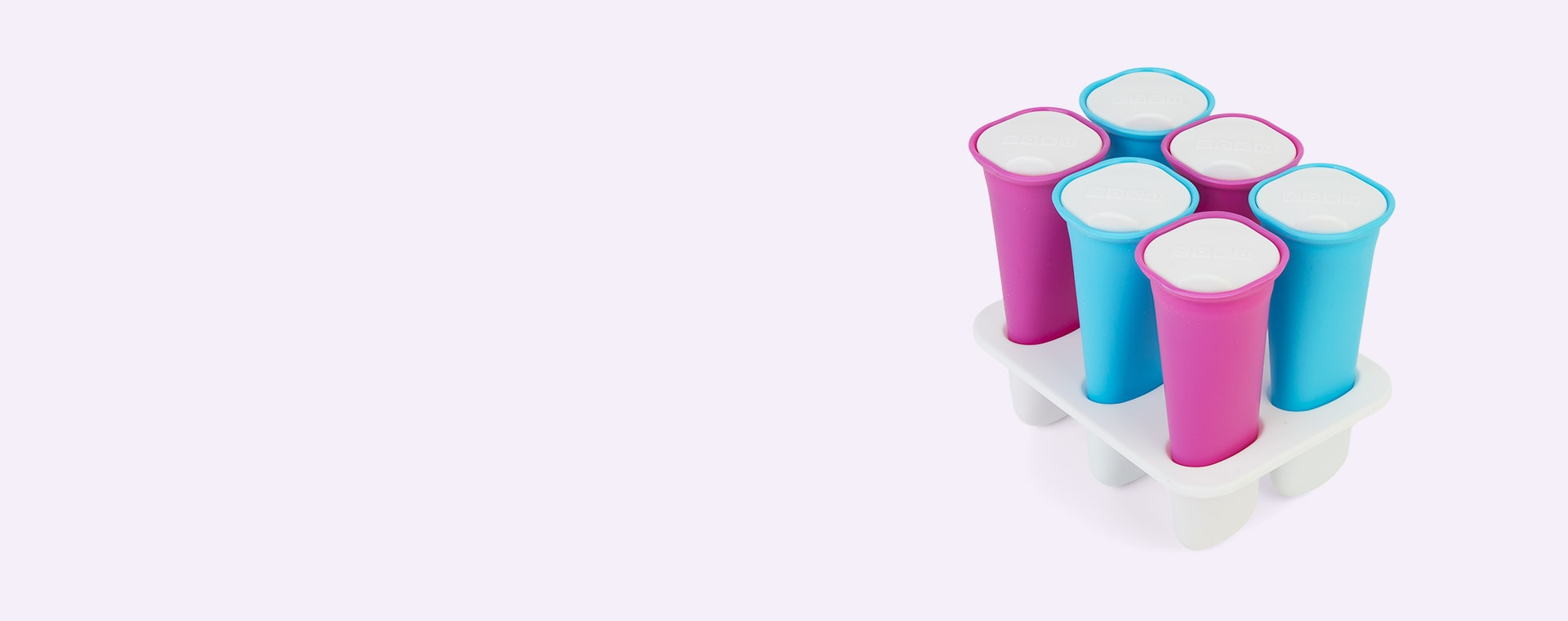 Multi Zoku Summer Ice Pop Mould  (6 sticks)