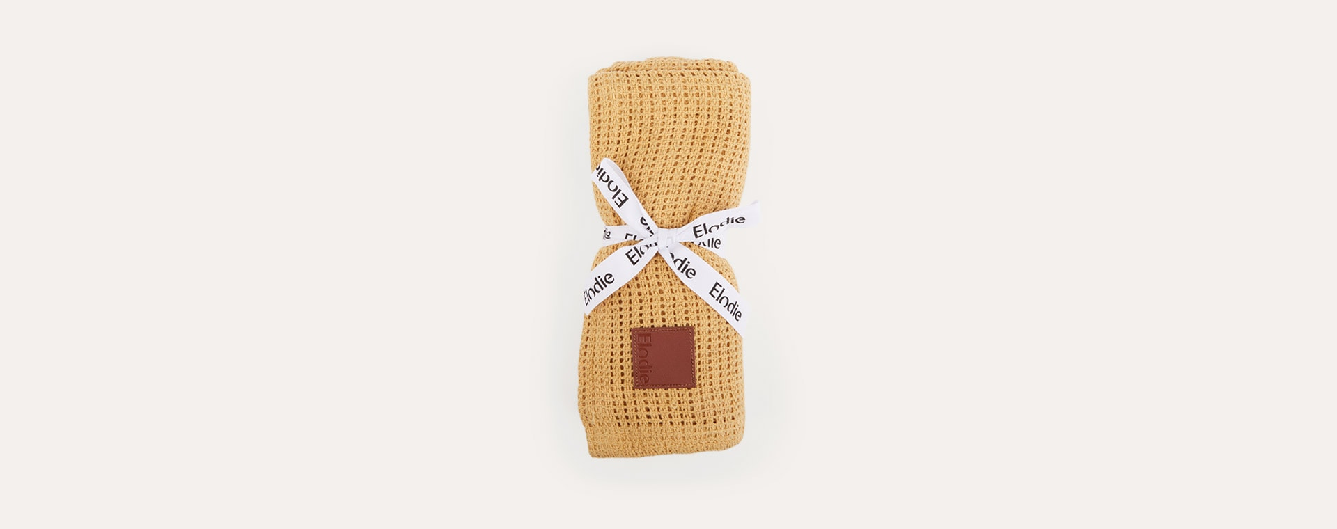 Gold Elodie Cellular Blanket