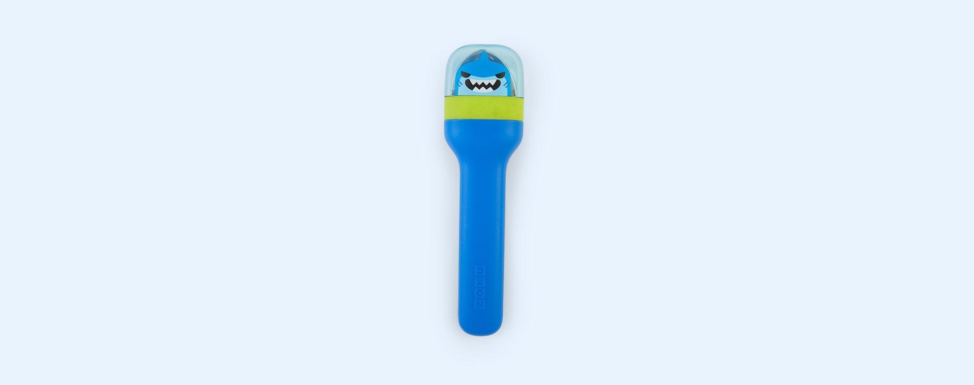 Shark Zoku Kids Pocket Utensil Set
