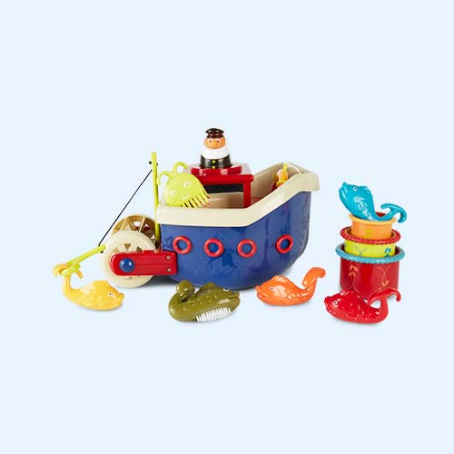 Multi B. Toys Fish and Splish Bath Toys