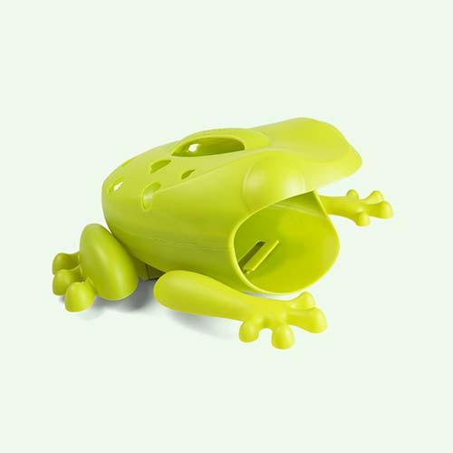 Green Boon Frog Pod Bath Toy Scoop