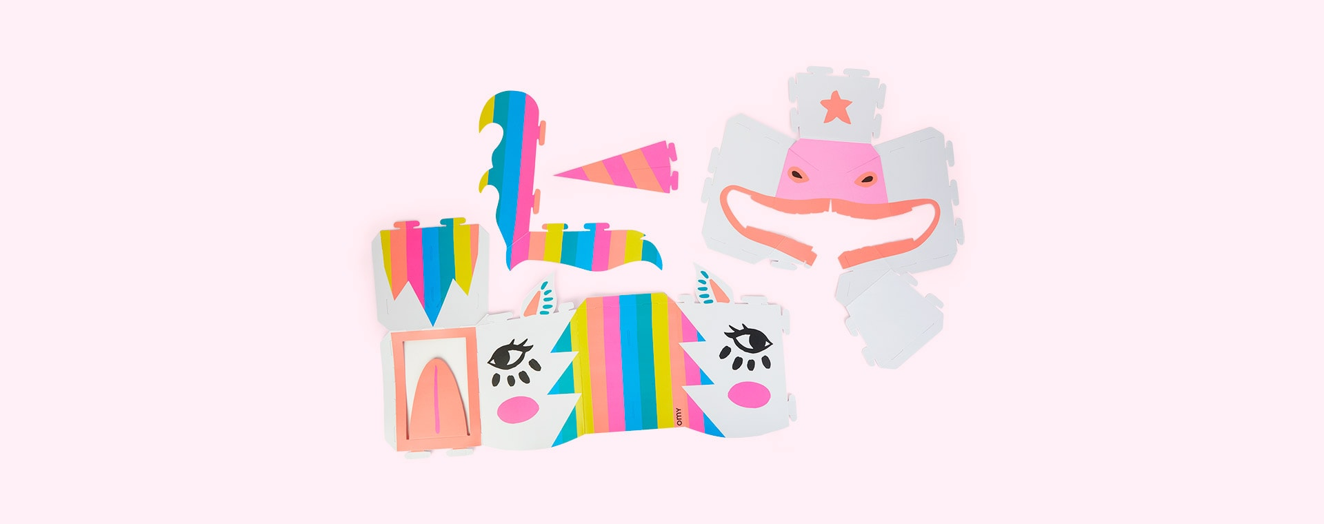 Lily OMY DESIGN & PLAY 3D Cardboard Mask